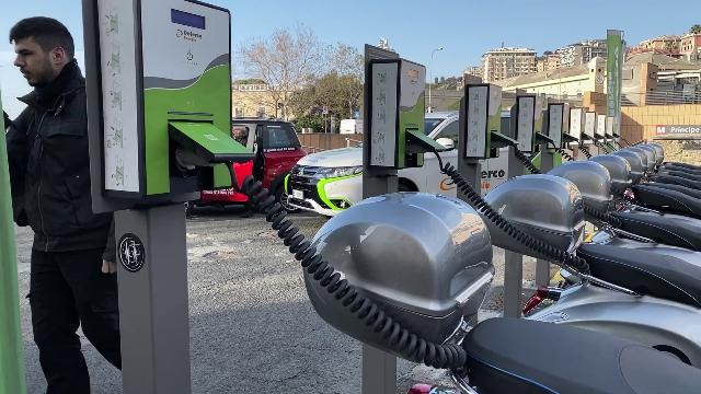 Trasporti: a Genova un hub di ricarica per moto elettriche