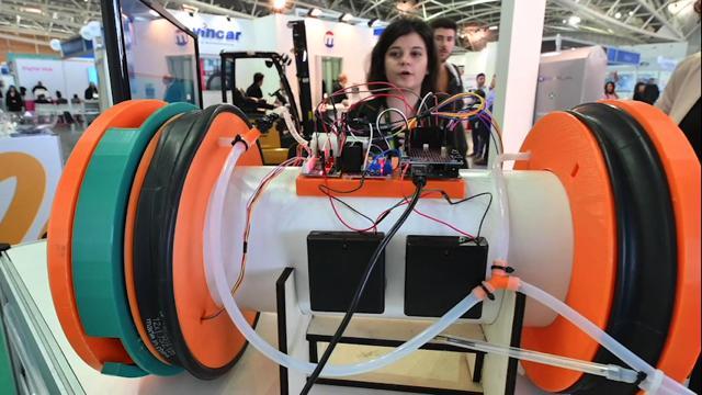 Torino, il mondo della robotica in mostra all'Oval del Lingotto