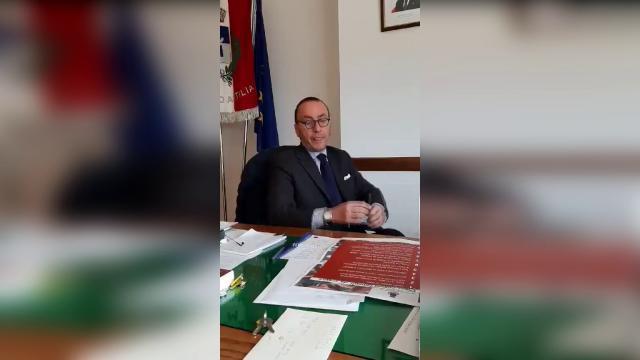 Coronavirus, caso positivo nel Cilentano: il sindaco fa l'annuncio in diretta social