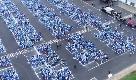 Francia, il coronavirus non ferma il mega raduno dei Puffi