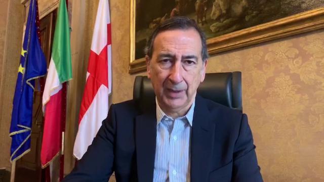 Coronavirus, il sindaco di Milano Sala: