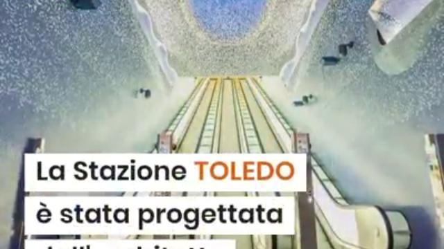 Coronavirus, la metropolitana di Napoli in timelapse: stazione Toledo