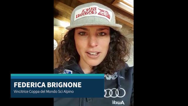 Val d'Aosta, l'appello di Federica Brignone e degli altri atleti: