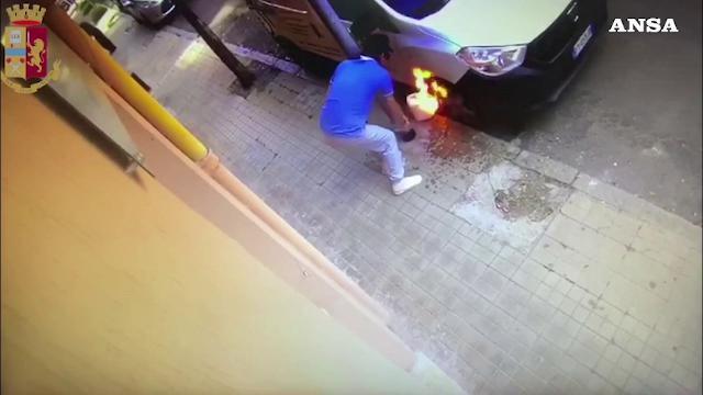 Lascia commento negativo sul ristorante: il titolare gli incendia il furgone