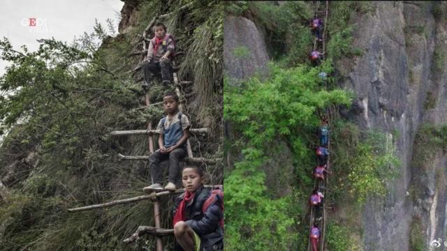 Cina, la storia a lieto fine del villaggio del Sichuan: i bambini non scaleranno più una montagna per andare a scuola