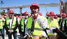 Ponte di Genova, Salvini nel cantiere: ''Codice appalti boiata che rallenta il Paese''