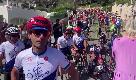 """La staffetta voluta da Zanardi, i compagni: """"Oggi pedaliamo per te"""""""