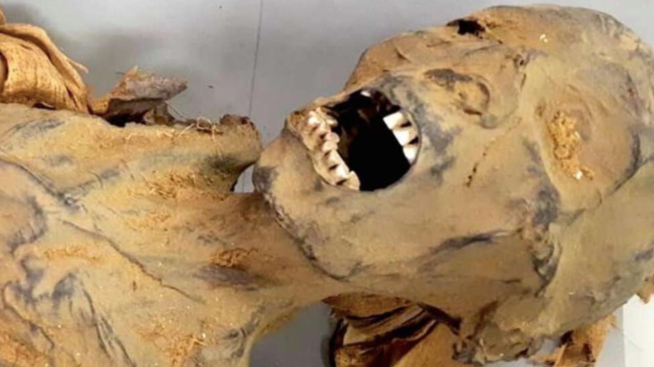 """Scoperto il segreto della """"mummia urlante"""" rinvenuta nel 1881 nella Valle dei Re"""