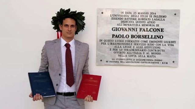 Palermo, la rivincita di Antonio, dislessico con la laurea