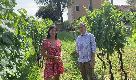 Con Linda Salvetti e la sua Pietra del Focolare