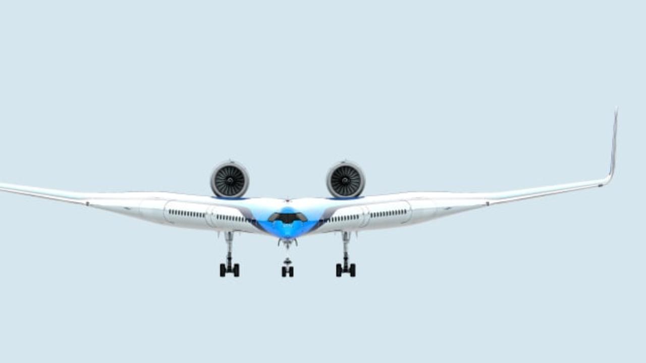 Primo volo per l'aereo Flying-V, il velivolo che trasporta i passeggeri all'interno delle ali