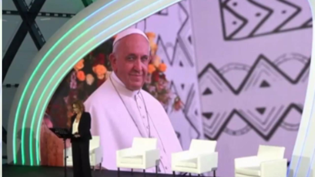 Festival Green&Blue, il messaggio di Papa Francesco: 'Un giornale per sostenere la cura della nostra casa comune'