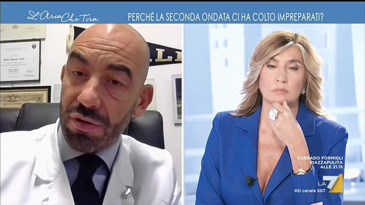 """Bassetti: """"Decessi contati male. Vittime di infarto con tampone positivo, registrati come morti Covid"""""""