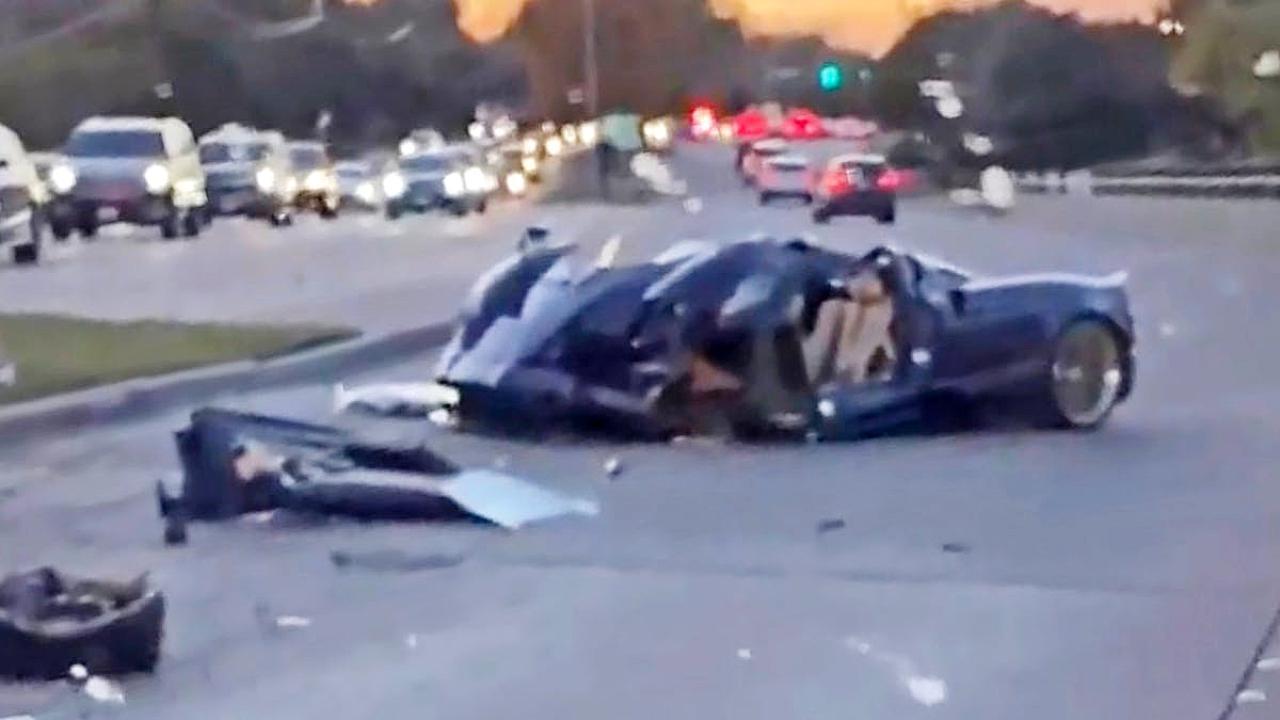 Youtuber 17enne schianta l'auto del padre: così distrugge la Pagani Huayra da 3,8 milioni di euro