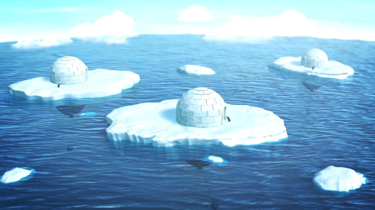 Antartide, il cambiamento climatico minaccia i pinguini: un architetto crea igloo galleggianti per salvarli dall'estinzione