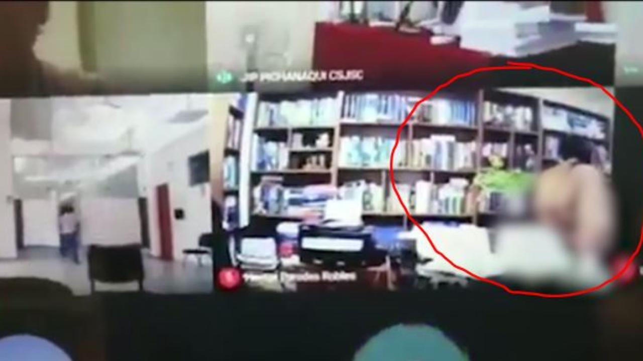 Perù, avvocato lascia per sbaglio aperto Zoom durante il processo, ripreso mentre fa sesso nel suo studio