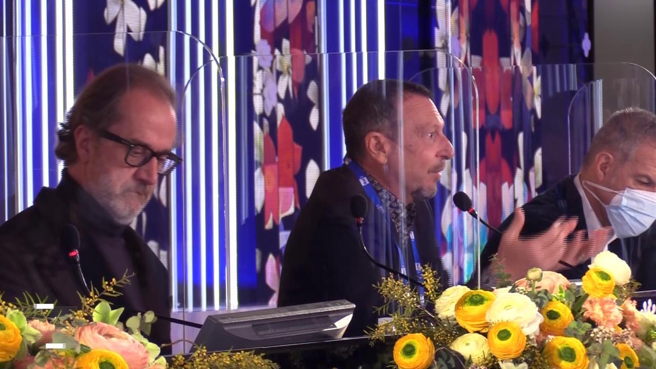 Sanremo 2021, Amadeus e il calo degli ascolti: 'La gente è arrabbiata e questo si riflette sui dati'