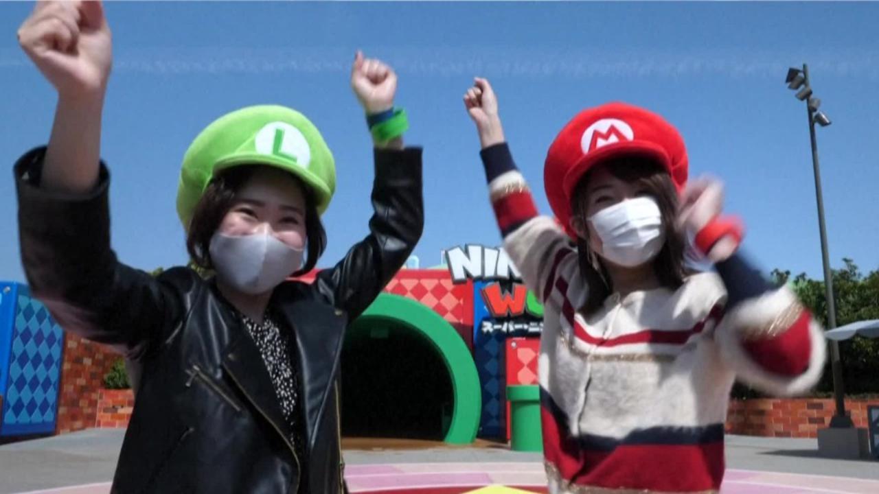 Nel mondo di Super Mario: a Osaka apre il primo parco interamente dedicato al videogame
