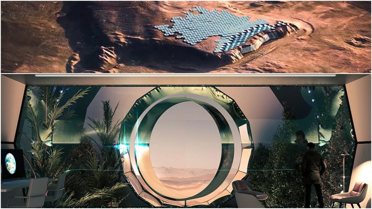 La prima città su Marte: svelato un progetto per ospitare 250.000 persone sul Pianeta Rosso