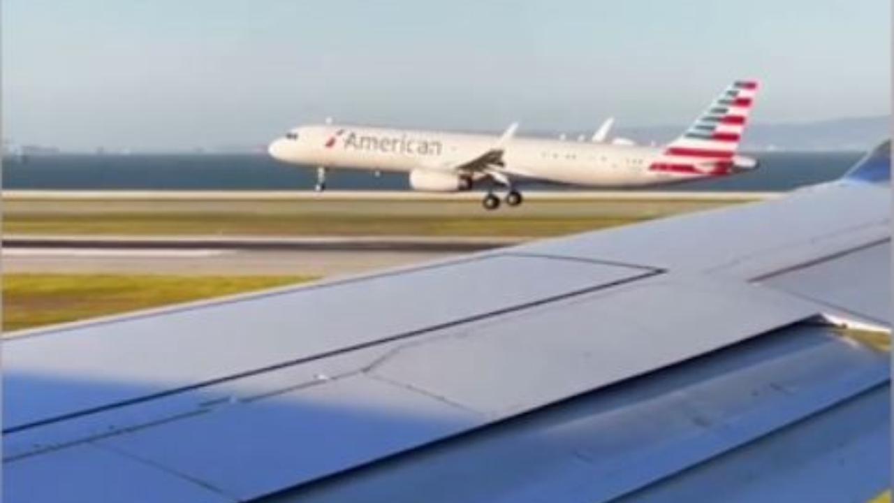 Follia a San Francisco, due piloti con passeggeri a bordo si sfidano in una gara d'atterraggio in aeroporto