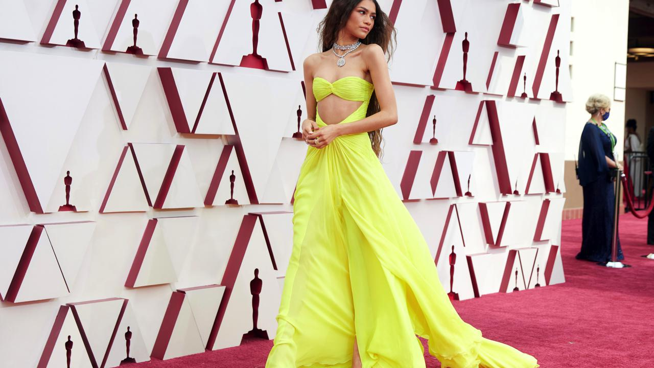 abiti più belli degli Oscar 2021 Zendaya