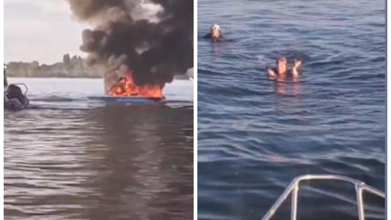 Gli esplode la barca dopo aver insultato una coppia gay: a salvarli sono le vittime delle offese