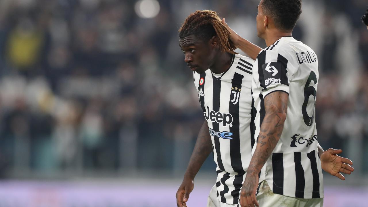 Gli ululati razzisti contro Moise Kean durante Juventus-Roma