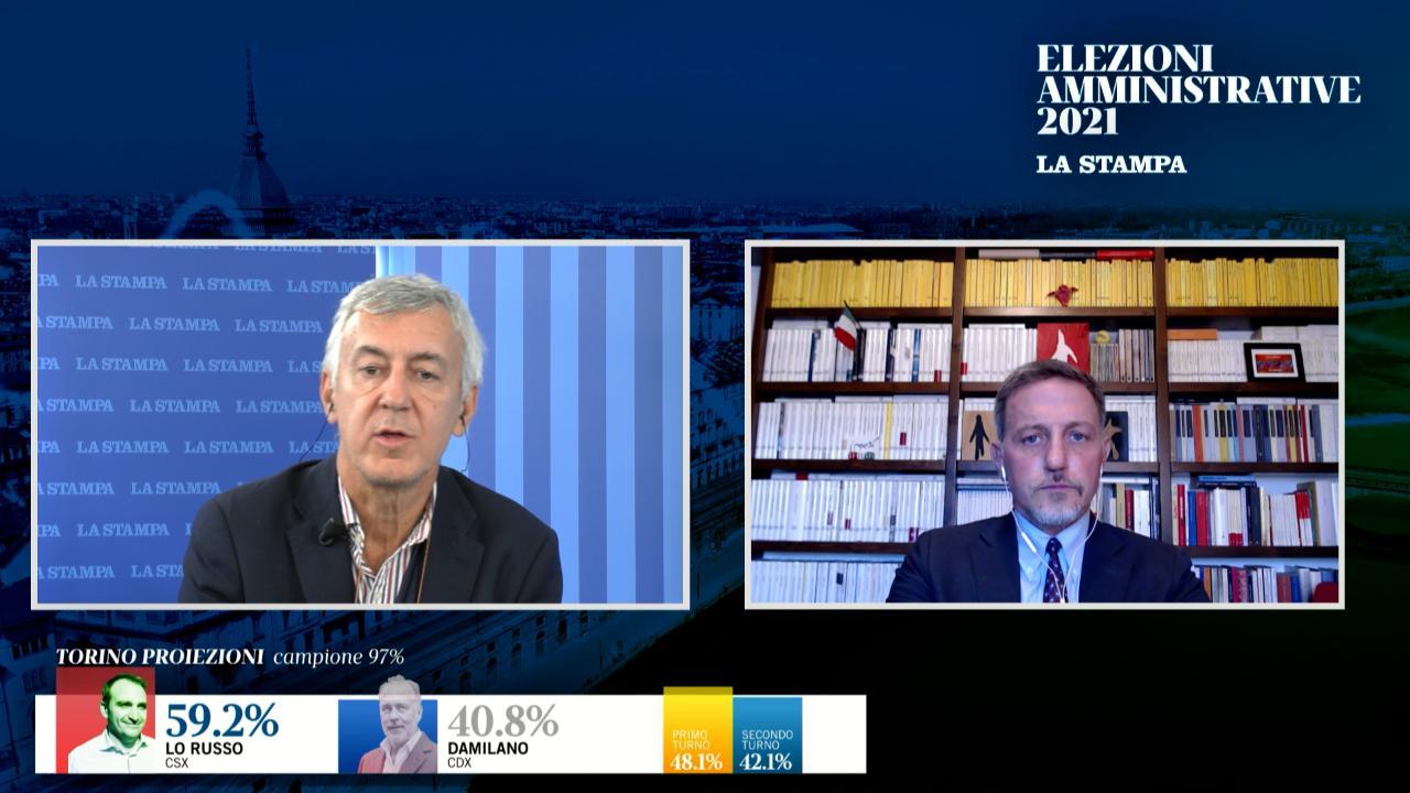 """Giannini: """"Lo Russo e Gualtieri eletti solo dal 25% degli aventi diritto. Ecco cosa aspetta loro"""""""